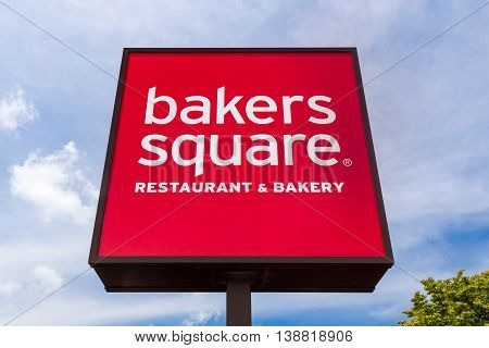 Bakers Square Restaurant And Sign