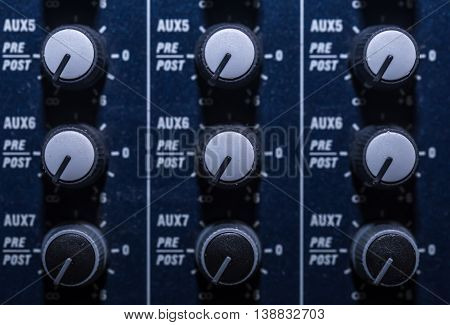 Mixing Console, Fader, Upport Group