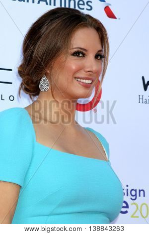 LOS ANGELES - JUL 16:  Alex Meneses at the HollyRod Presents 18th Annual DesignCare at the Sugar Ray Leonard's Estate on July 16, 2016 in Pacific Palisades, CA