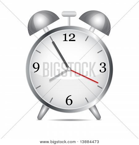Metal Alarm Clock.vector