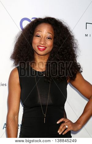 LOS ANGELES - JUL 16:  Monique Coleman at the HollyRod Presents 18th Annual DesignCare at the Sugar Ray Leonard's Estate on July 16, 2016 in Pacific Palisades, CA