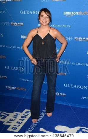 LOS ANGELES - JUL 14:  Kimi Culp at the Gleason LA Premiere Screening at the Regal 14 Theaters at LA Live on July 14, 2016 in Los Angeles, CA