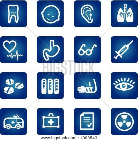 Medicine And Health Icons Set