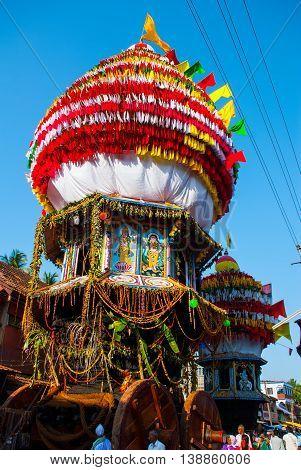 Gokarna, Karnataka, India. Siva Murthy - Mahabaleshwar Lingam.