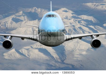 Airplane Over Alaska