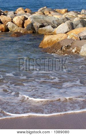 Gentle Waves On The Beach