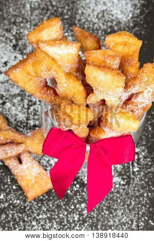 Faworki - Traditional Polish cookies served at Fat Thursday