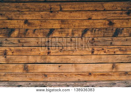 Rustic woden planks texture as natural background