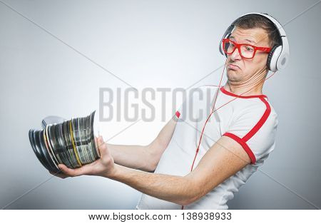 Funny Dj With Cds