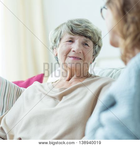 Support For Old Woman