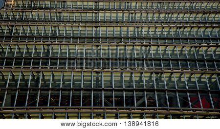 Detail of glass roof, Waverly station, Edinburgh