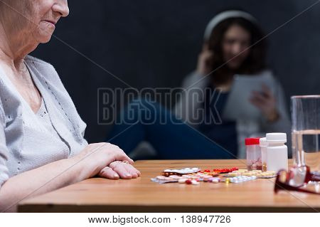 Medications On Table
