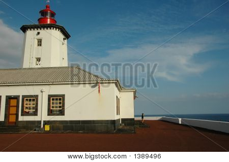 Lighthouse From The Island, Azores