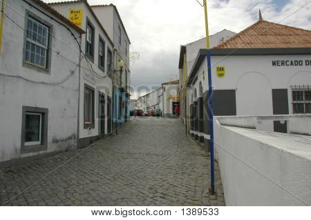 Old Homes In An Azores Village