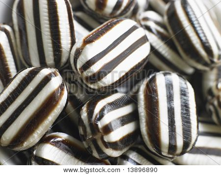 Hard Candy Humbugs In A Large Group