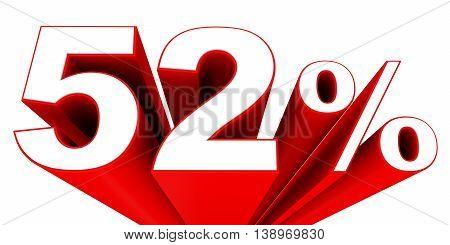 Discount 52 Percent Off Sale.