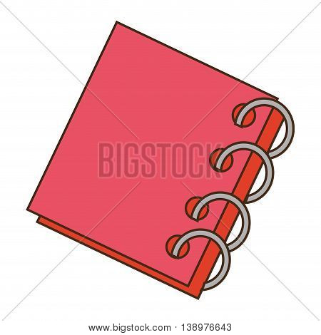 Book education school colorful, isolated flat icon.