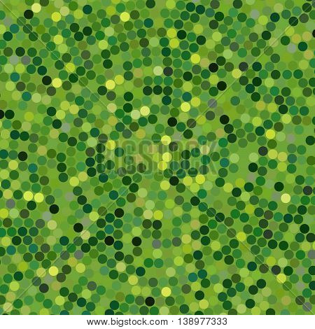 Pattern Or Texture With Green Dots For Blog, Website Design Or Scrapbooks, Vector Illustration