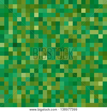 Seamless Geometric Checked Pattern. Ideal For Printing Onto Fabric And Paper Or Decoration. Green Co