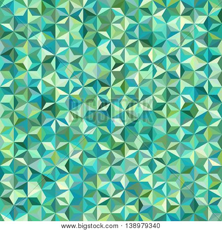 Abstract Seamless Background Consisting Of Triangles. Geometric Design For Business Presentations Or