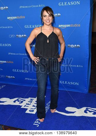 """LOS ANGELES - JUL 14:  Kimi Culp arrives to the """"Gleason"""" Los Angeles Premiere on July 14, 2016 in Los Angeles, CA"""