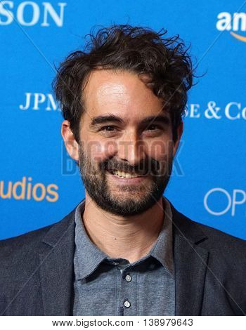 """LOS ANGELES - JUL 14:  Jay Duplass arrives to the """"Gleason"""" Los Angeles Premiere on July 14, 2016 in Los Angeles, CA"""