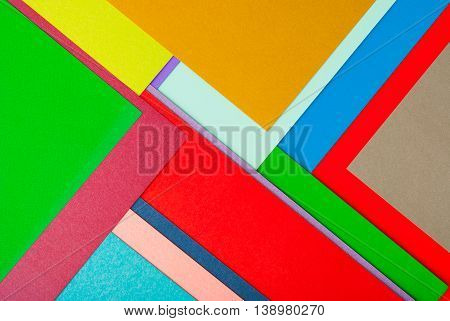 Abstract Colorful Background. Modern Material Design color