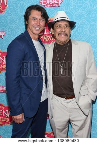 """LOS ANGELES - JUL 16:  Lou Diamond Phillips & Danny Trejo arrives to the Disney Channel's """"Elena of Avalor"""" Los Angeles Premiere on July 16, 2016 in Beverly Hills, CA"""