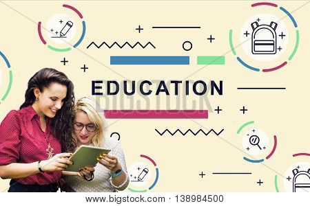 Education Learning Students Development People Graphic Concept