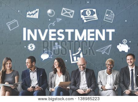 Investment Business Economy FInancial Revenue Concept