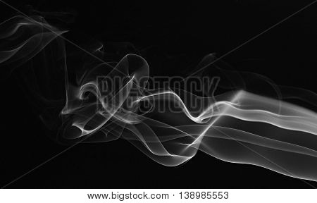 Smooth Abstract Smoke Lines