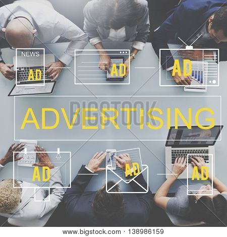 Advertising Commercial Marketing Digital Branding Concept