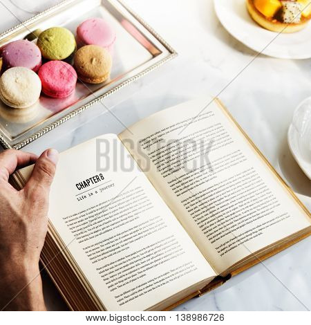 Reading Book Relax Chill Peace Lifestyle Concept