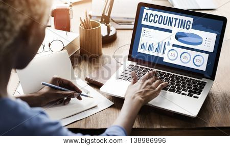 Acounting Auditing Balance Bookkeeping Capital Concept