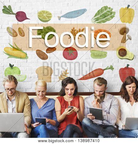 Foodie Cuisine Culinary Culture Fresh Garnish Concept