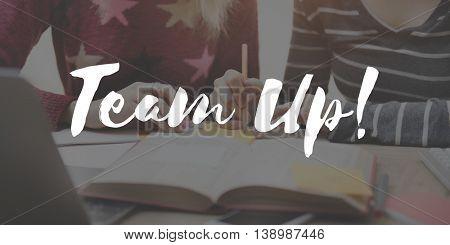 Team Collaboration Relationship Union United Concept
