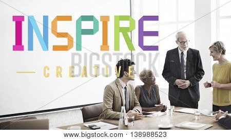 Inspire Hopeful Believe Aspiration Vision Innovate Concept