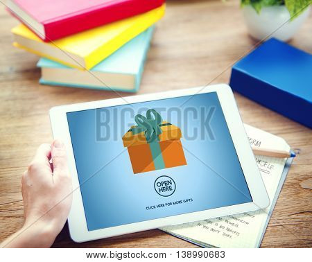 Gift Festive Holidays Occasion Celebration Concept