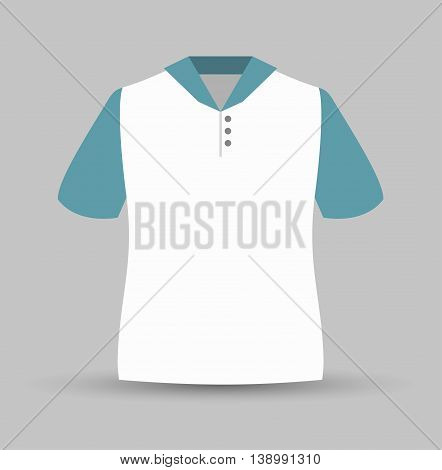 neck shirt isolated icon design, vector illustration  graphic