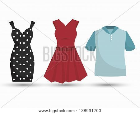 sewing garments isolated icon design, vector illustration  graphic