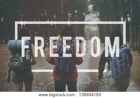 Freedom Emancipated Human Rights Liberty Concept