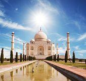 Taj Mahal palace poster