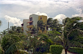 Resort In A Wind Storm