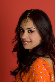 Sexy junge Inderin