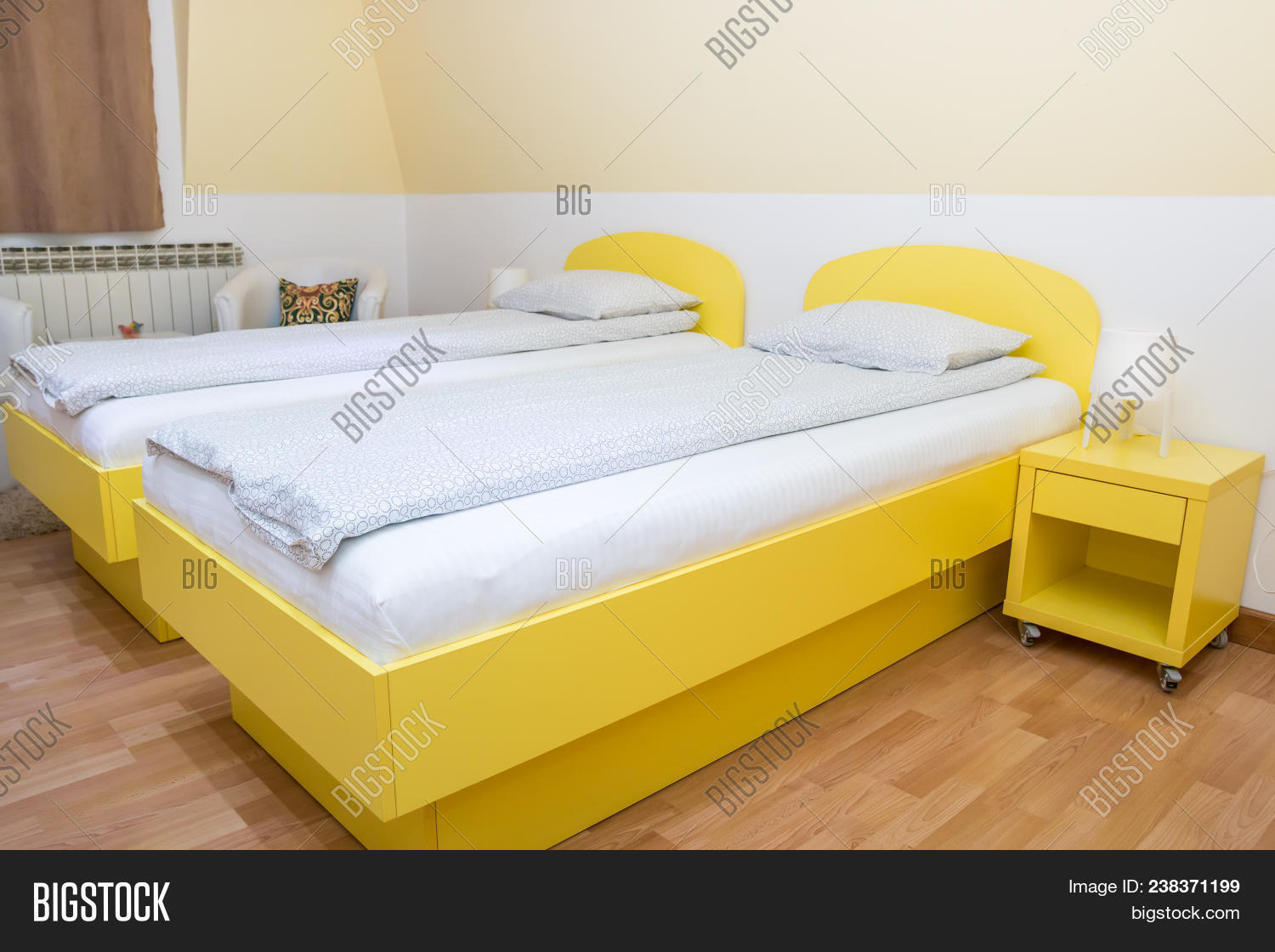 Bedroom Area Studio Image Photo Free Trial Bigstock