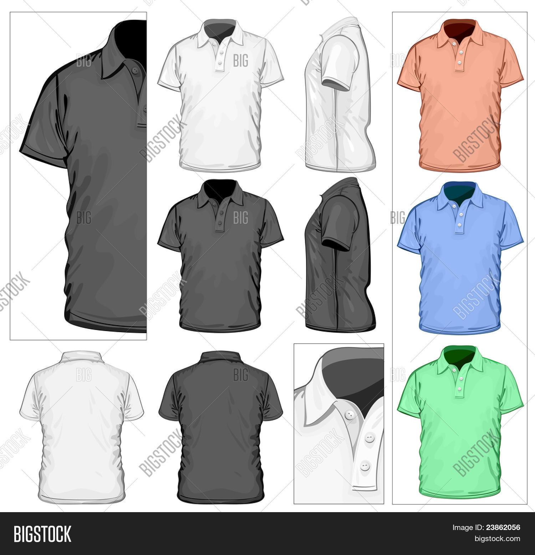 Vector. Men\'s Polo- Vector & Photo (Free Trial)   Bigstock