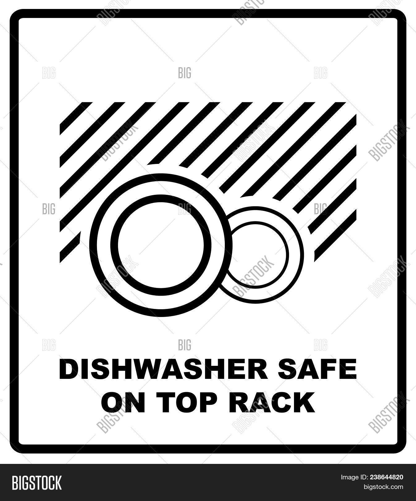 Dishwasher Safe On Top Image Photo Free Trial Bigstock