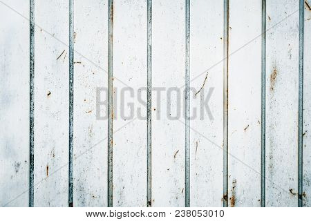 White Metal Texture Background. Abstract Corroded Iron Color Wallpaper.