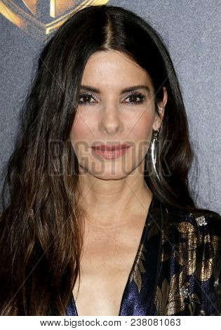 Sandra Bullock at the 2018 CinemaCon - Warner Bros. Pictures 'The Big Picture' Presentation held at the Caesars Palace in Las Vegas, USA on April 24, 2018.