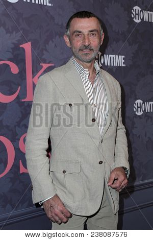 LOS ANGELES - APR 25:  Shaun Toub, Lorena Toub at the Premiere Of Showtime's